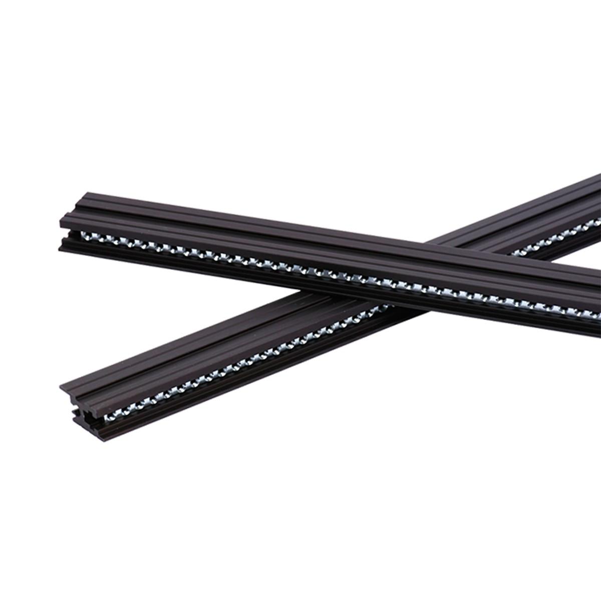 Tiptop Audio Z-Rails 126HP Eurorack Mounting Rails – Black (Pair)