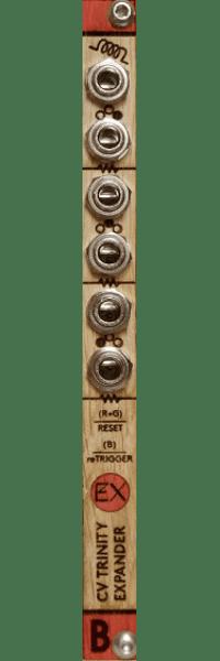 Bastl Instruments CV Trinity Expander Eurorack Module (Wood)